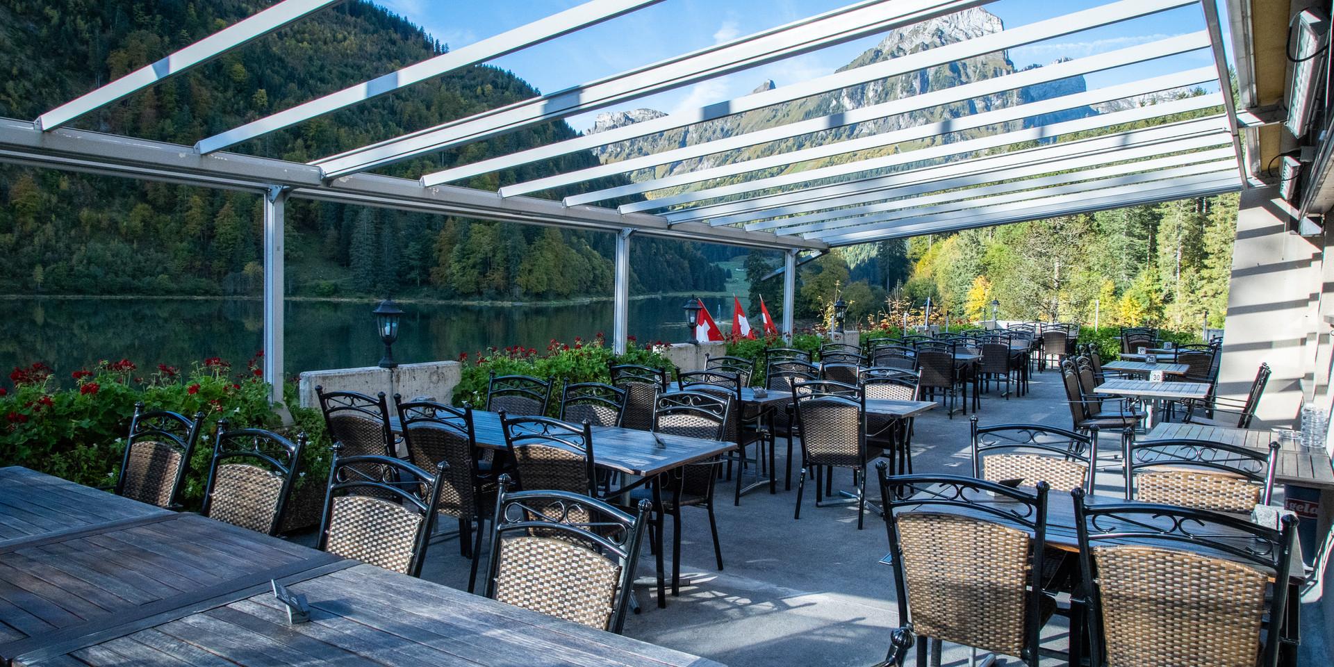 Terrasse Berhotel Obersee Näfels