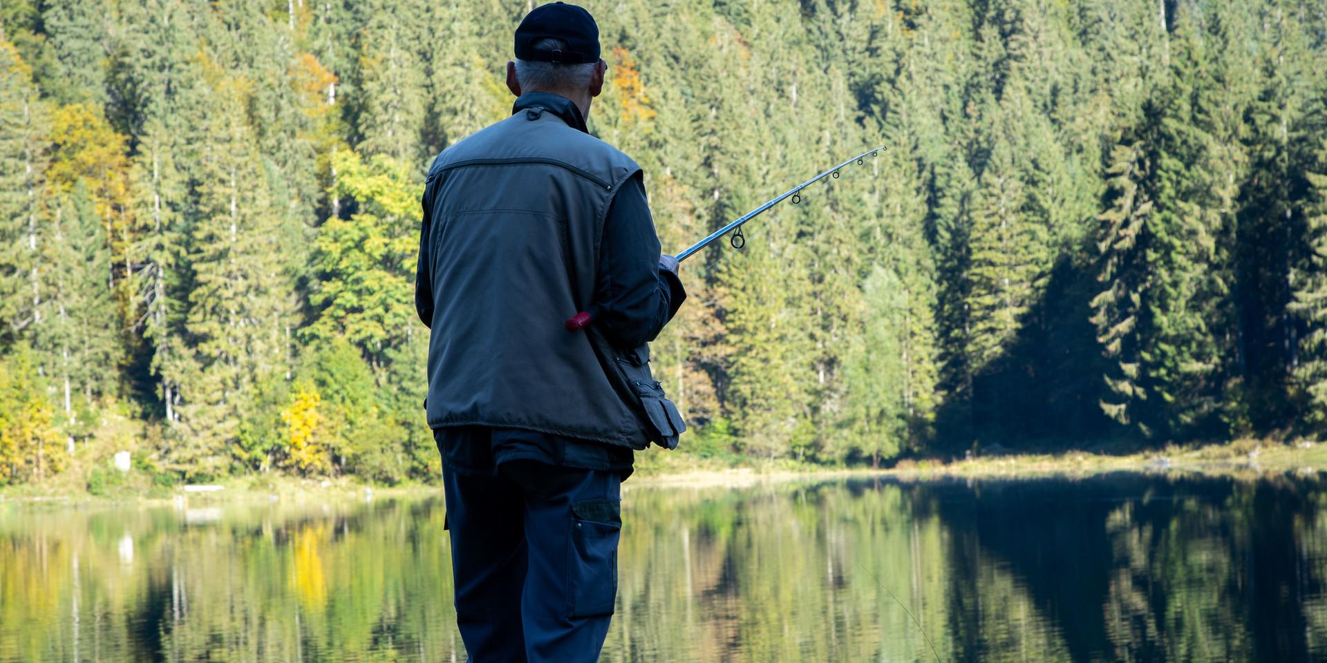 Angler am Obersee Näfels