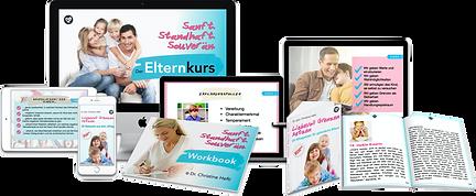 Umfassender Elternkurs in 7 Videomodulen und zwei Bonusmodulen: Lernen Sie Ihr Kind besser verstehen und ihm respektvoll Grenzen setzen!