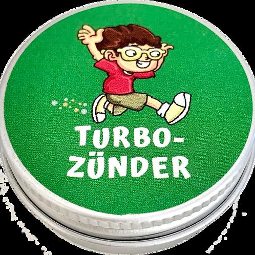 Turbozünder – gibt mehr Motivation und Tempo.