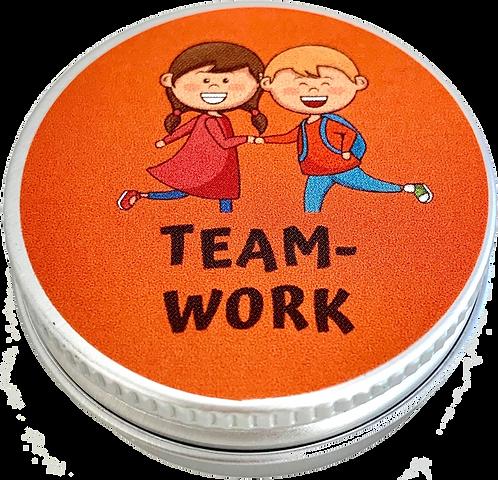 Teamwork – stimmt streitende Kinder versöhnlich