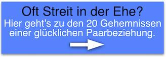 Lebenstipps Dr. Hefti: Missgunst in der Partnerschaft. Streit in der Ehe? Paarprobleme lösen.