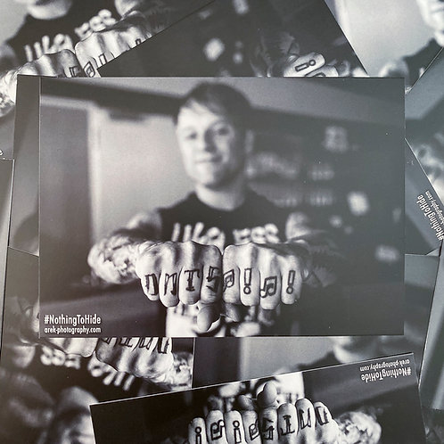 Postkarte NTH - Guido (Donots)