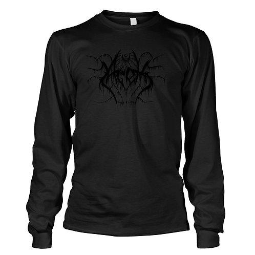 Black Metal Logo   Longsleeve