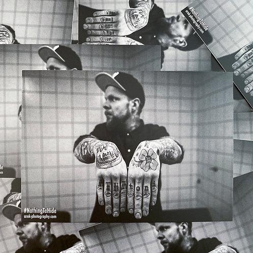Postkarte NTH - Torsten (Beatsteaks)
