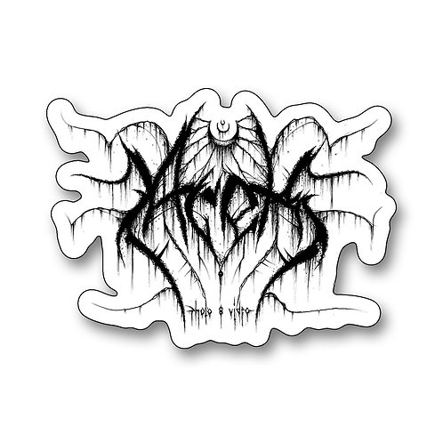 Metal Logo Sticker 10cm