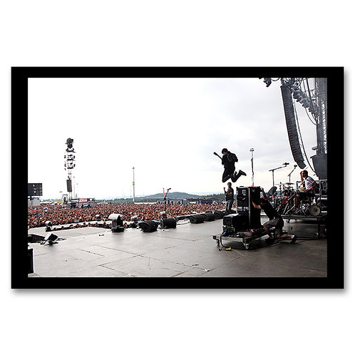 Print gerahmt - Enter Shikari | Rock Am Ring II 2012