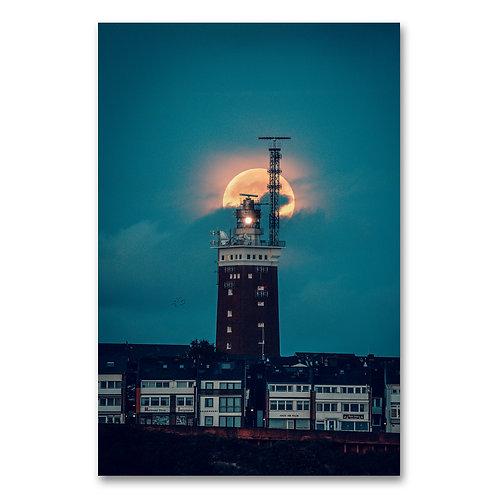 Helgoland 2020 | Leuchtturm Vollmond