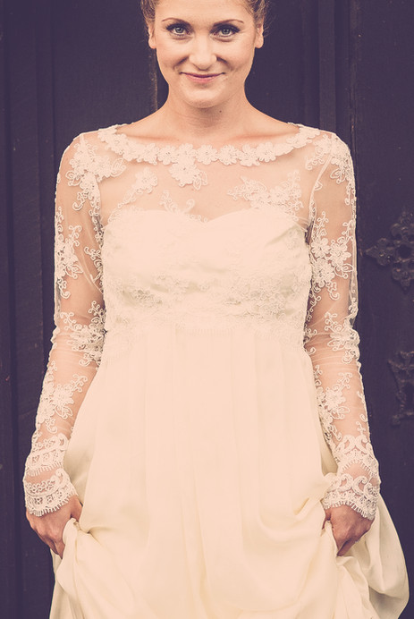 Bespoke Bridal Alternative Bohemian Wedding Dress