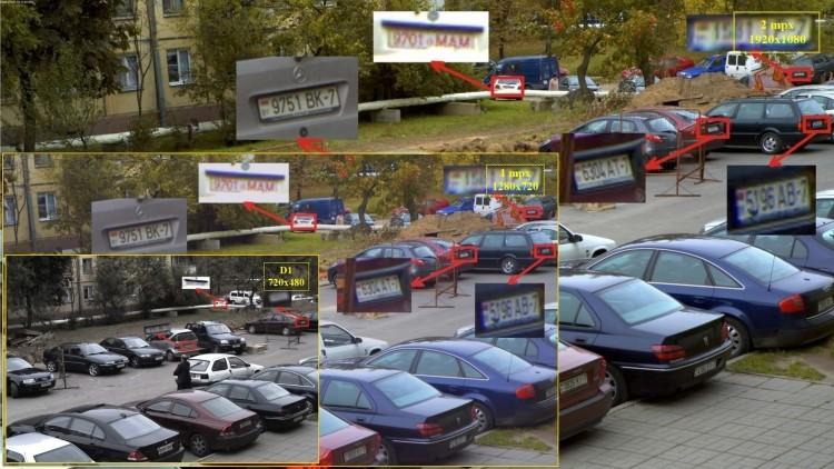 видеонаблюдение на автопарковке