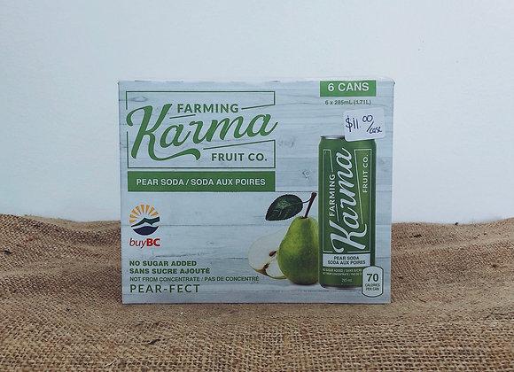 Farming Karma Pear Soda (1 case)