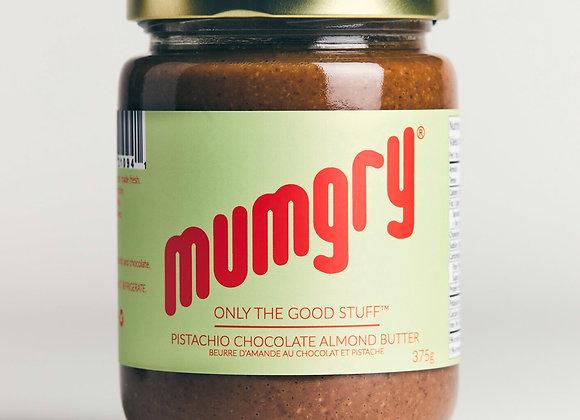 Mumgry (Chocolate, Almond, Pistachio butter)