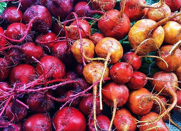 Red Beets (3lb bag)