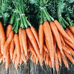 We have washed and bagged carrots for to