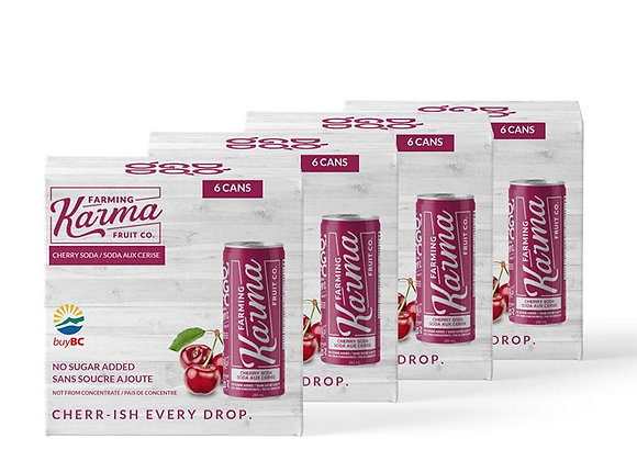 Farming Karma Cherry Soda (1 case)