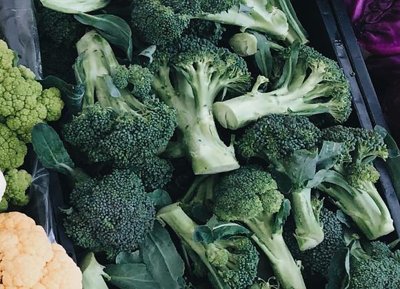 Broccoli (one bunch)