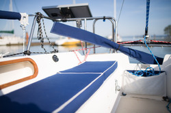 Cockpit- Starboard