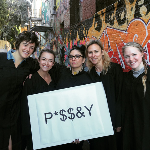 yes, it says pussy