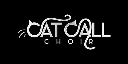 Cat Call Choir logo - black background.j