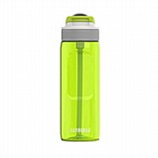 בקבוק שתייה 750 מ״ל ירוק בהיר עם קש