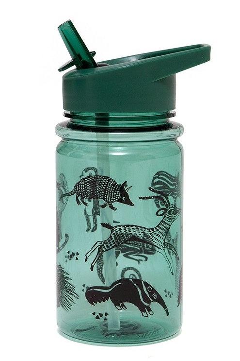 בקבוק חיות-ירוק שחור