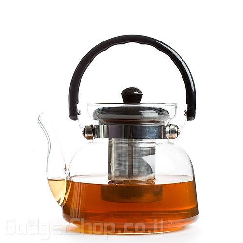 """קנקן תה להרתחה על הגז 800 מ""""ל"""
