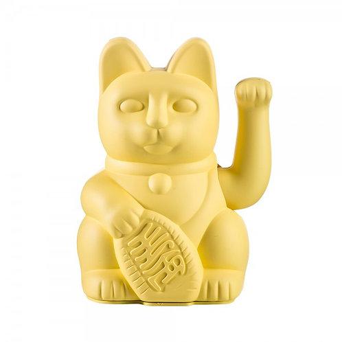 חתול מזל- LUCKY CAT- צהוב