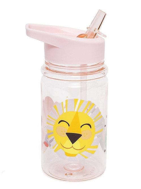 בקבוק שתייה אריה ורוד