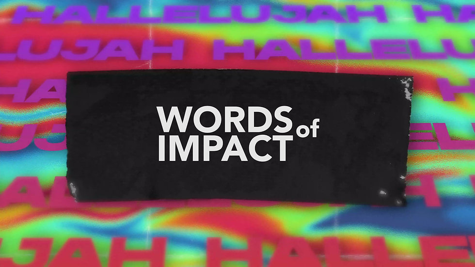 Words of Impact
