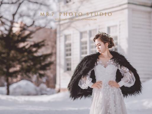 海外自助婚紗 - 北海道