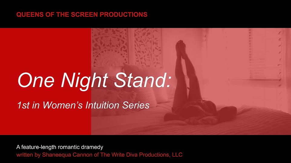 One Night Stand Pitch Deck Presentation