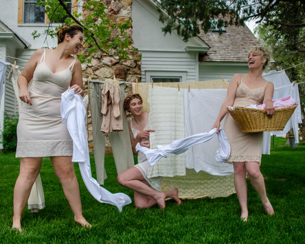 Cicely G., Casey D. & Chandler L. in Laundry Day