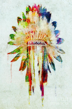 Colorful headdress