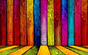 Colorful fenced