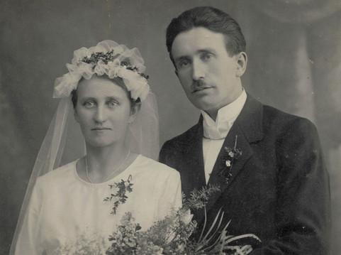 Hochzeitspaar Gacon
