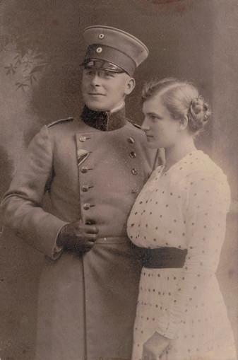 Josef Lehmann mit Pia geb. Bertele