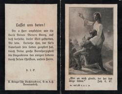 Sterbebild Georg Krell