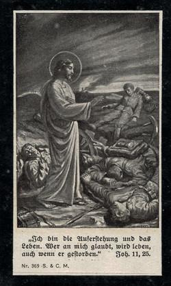 Sterbebild Franz Kölz