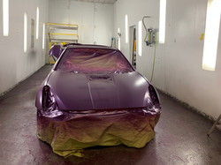 First layer of paint no clear coat