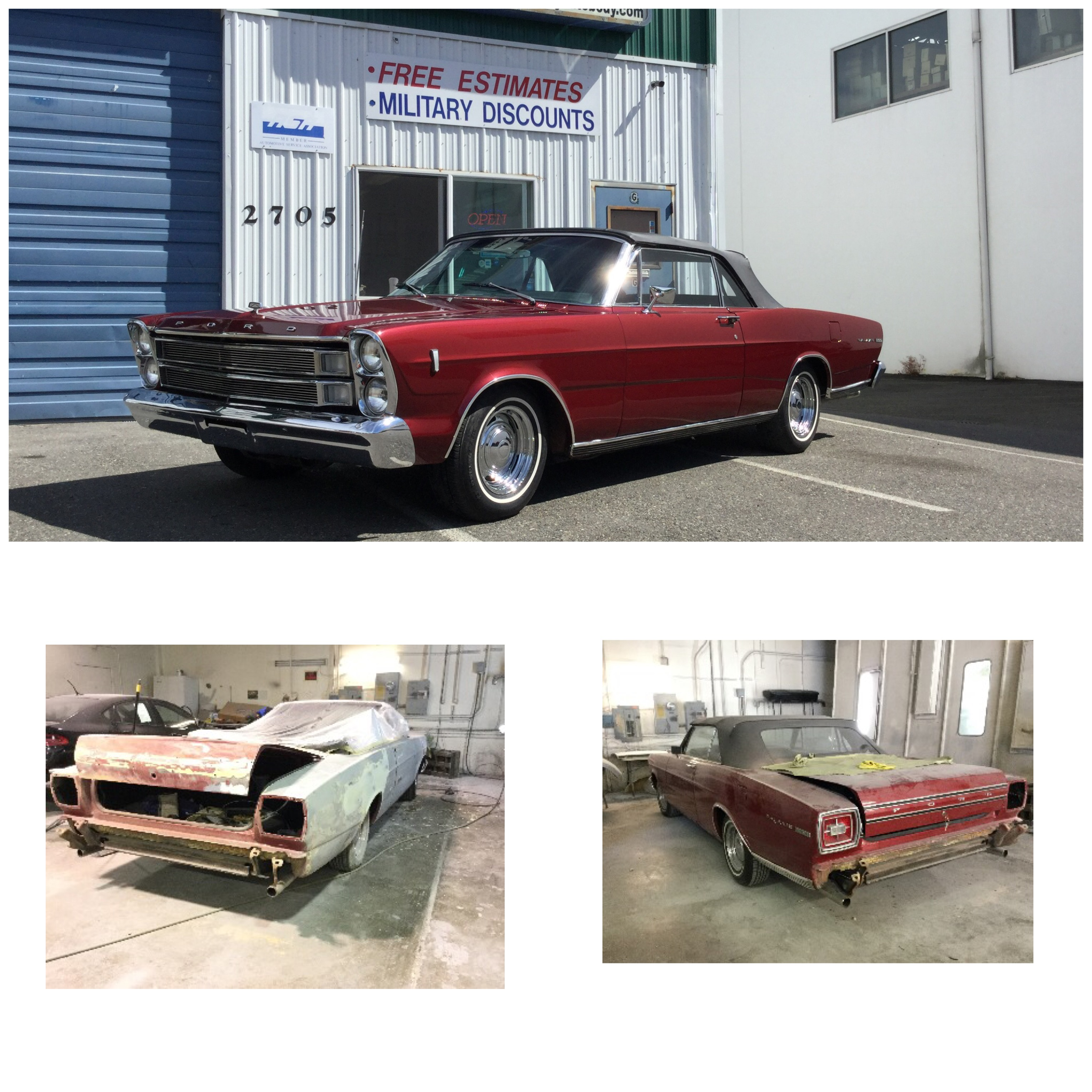 1966 FORD CONVERTIBLE