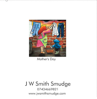 Mothers day greeting card north east art county durham j w 140 x 140 mm premium matte 300gm greeting card which comes with envelope and cellophane wrap m4hsunfo