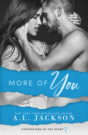 Cover Reveal: More Of You by A.L. Jackson plus Giveaway