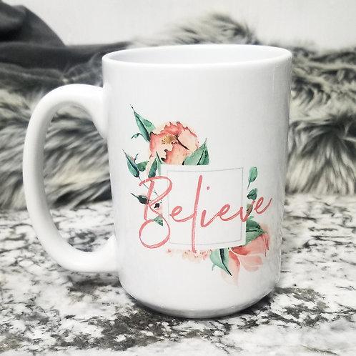 Believe Limited Edition Holiday Mug