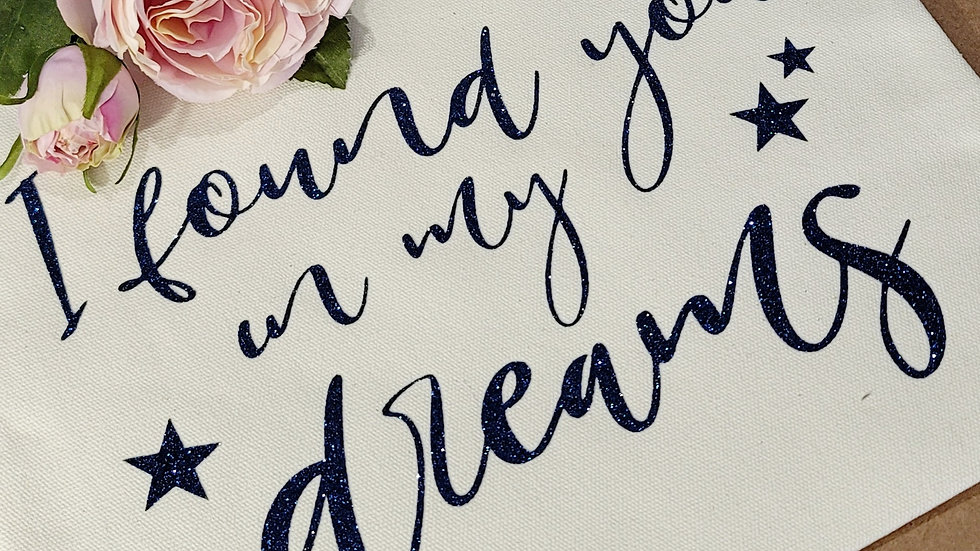 I Found You In My Dreams Book Pouch