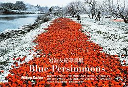 写真展「Blue Persimmons」開催します。 The Photo Exhibition 'Blue Persimmons' will be held in Tokyo and Osaka