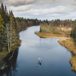 Kayaktour Schweden