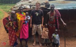 Eine Maasai Hütte