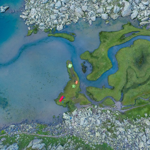 Tomasee Rheinquelle bei der Tour des Sui-Lacs