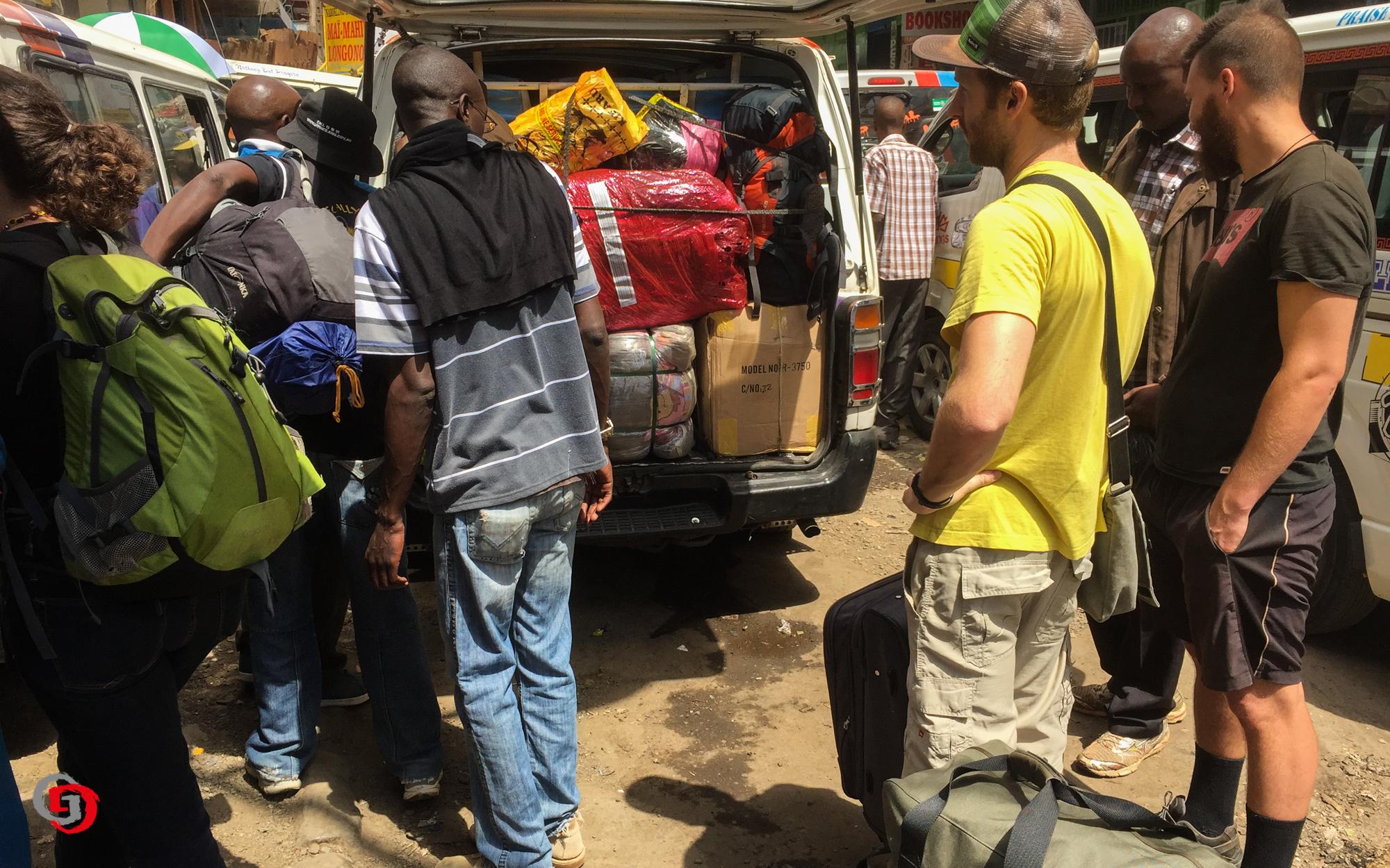 Auf dem Weg von Nairobi nach Narok