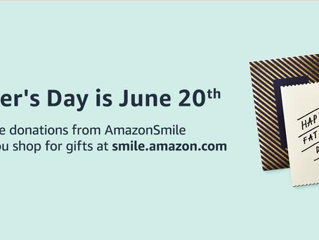 Amazon Smile--Father's Day is Around the Corner!